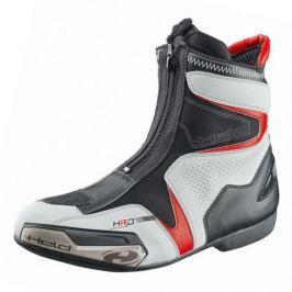 Held kotníkové boty SHORT LAP vel.42 bílá/černá, PU-kůže/textil