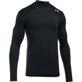 Under Armour CG Reactor Fitted LS Black Stealth Gray White L