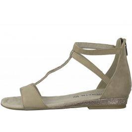 Tamaris dámské sandály 36 béžová