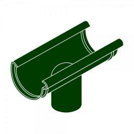 LanitPlast Kotlík DN 125/90 půlkulatý zelená barva