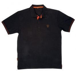 Fox Polokošile Black Orange Polo Shirt L