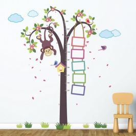 Walplus Samolepky na zeď, strom s opičkou