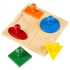 Montessori pomůcky Puzzle – geometrické tvary