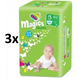 Magics Flexidry Midi (4-9kg) Ecopack - 198 ks