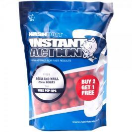 Nash Boilies Instant Action Squid And Krill 200 g, 12 mm