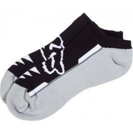 FOX pánské trojité balení ponožek Perf no show S/M černá