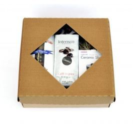 Intenso Dárkový set - Aeropress Aerobie + mlýnek Hario Mini Mill Slim + Intenso Classico 500g