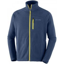 Columbia Fast Trek II Full Zip Fleece Collegiate Navy Antique Moss S