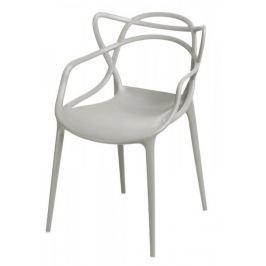 Mørtens Furniture Jídelní židle s područkami Minster, šedá