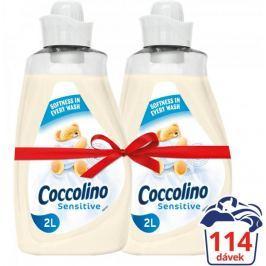 Coccolino Happy Sensitive aviváž 2x 2l (114 praní)