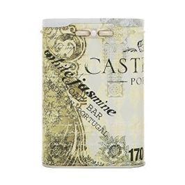 Castelbel Luxusní jemné mýdlo v plechové krabičce Bílý jasmín 170 g