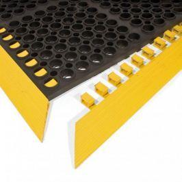 Černá gumová náběhová hrana COBA Deluxe - 107,4 x 5 x 1,9 cm