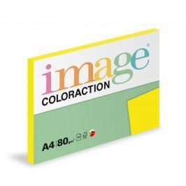 Papír kopírovací Coloraction A4 80 g žlutá sytá 100 listů