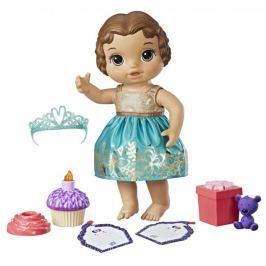 Hasbro Baby Alive Narozeninová tmavovlasá panenka