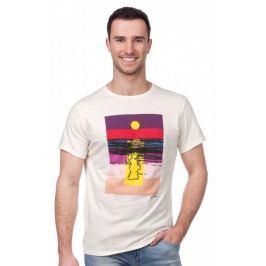 Pepe Jeans pánské tričko Sunset L smetanová