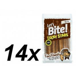 Brit Lets Bite Lucky Stars 14x100 g