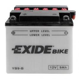 Exide baterie  EB9-B, 12V 9Ah, za sucha nabitá s antisulfační úpravou. Náplň součástí balení.