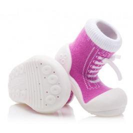 Attipas dívčí botičky Sneakers Purple 19 fialová