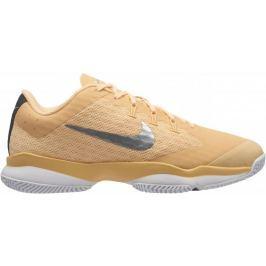 Nike Air Zoom Ultra Tennis Shoe Tangerine Tint Metallic Silver 37,5