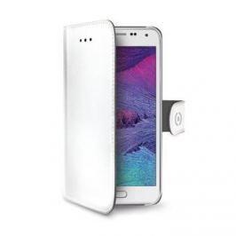 Celly Pouzdro Wally, Samsung Galaxy S6 EDGE, bílé - II. jakost