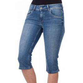 Pepe Jeans dámské kraťasy Saturn Crop 25 modrá