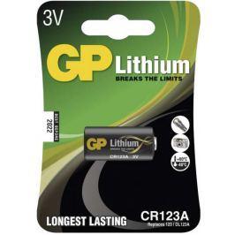 GP CR123A, 3V 1400 mAh, 1 ks