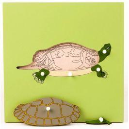 Montessori pomůcky Puzzle s kostrou - želva