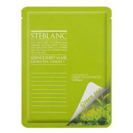 Steblanc Čisticí a zklidňující pleťová maska Zelený čaj (Essence Sheet Mask Green Tea) 20 g