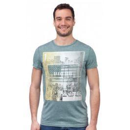 Brave Soul pánské tričko Staten S zelená