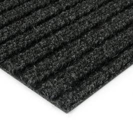 FLOMAT Černá kobercová čistící zóna Shakira - 50 x 200 x 1,6 cm