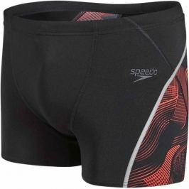 Speedo Fit Graphic Aquashort Black/Lava Red 32