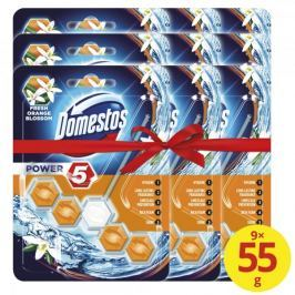 Domestos Power 5 Orange Blossom WC blok 9 x 55 g