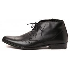 PAOLO GIANNI pánská kotníčková obuv 44 černá