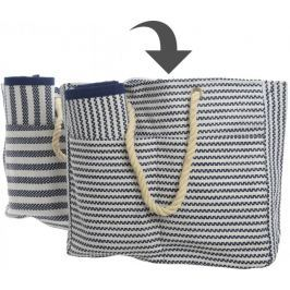 Kaemingk Plážová taška s podložkou, úzké proužky