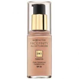 Max Factor Dlouhotrvající make-up Facefinity 3 v 1 (All Day Flawless) 30 ml (Odstín 45 Warm Almond)