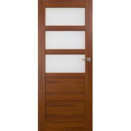 VASCO DOORS Interiérové dveře BRAGA kombinované, model 4, Dub riviera, D