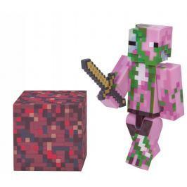 TM Toys Minecraft - Zombie Pigman sběratelská figurka s doplňky