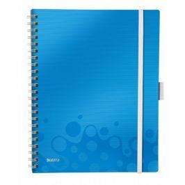 Blok mobilní Leitz WOW A4 linkovaný metalicky modrý