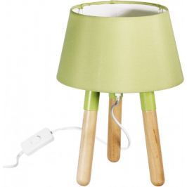 Time Life Stolní lampa 30 cm, trojnožka, zelená