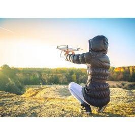 Poukaz Allegria - dron - létání s nohama na zemi