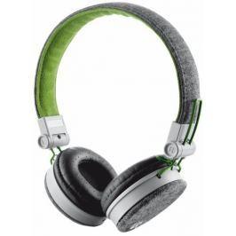Trust Fyber Headphone - gray/green (20080)