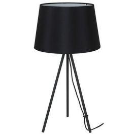 Solight stolní lampa Milano Tripod, trojnožka, 56 cm, E27 černá