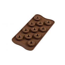 Silikomart 3D Silikonová forma na čokoládu – Crown spiral