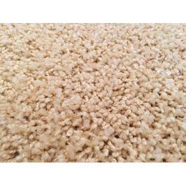 Kusový koberec Color Shaggy béžový, průměr 120 cm