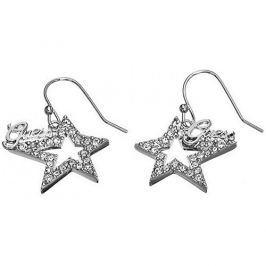 Guess Hvězdičkové náušnice s krystaly UBE81301