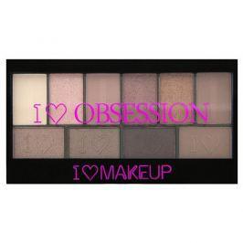 Makeup Revolution Paletka 10 očních stínů Kultovní I LOVE MAKEUP (Obsession Palette Pure Cult) 17 g