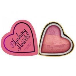 Makeup Revolution Srdcová tvářenka Stydlivé srdce I LOVE MAKEUP (Hearts Blusher Blushing Heart) 10 g