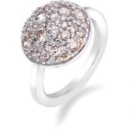Hot Diamonds Prsten Emozioni Laghetto Bouquet Champagne ER009 (Obvod 53 mm) stříbro 925/1000