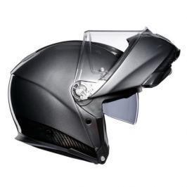 AGV vyklápěcí karbonová přilba SPORTMODULAR černý karbon/šedá vel.L (59-60cm)