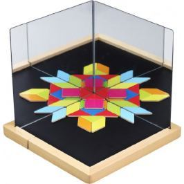 Teddies Magnetická tabulka se zrcadly